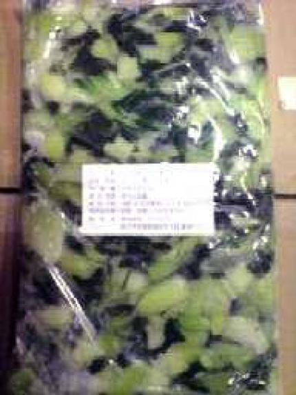 チンゲン 菜 冷凍